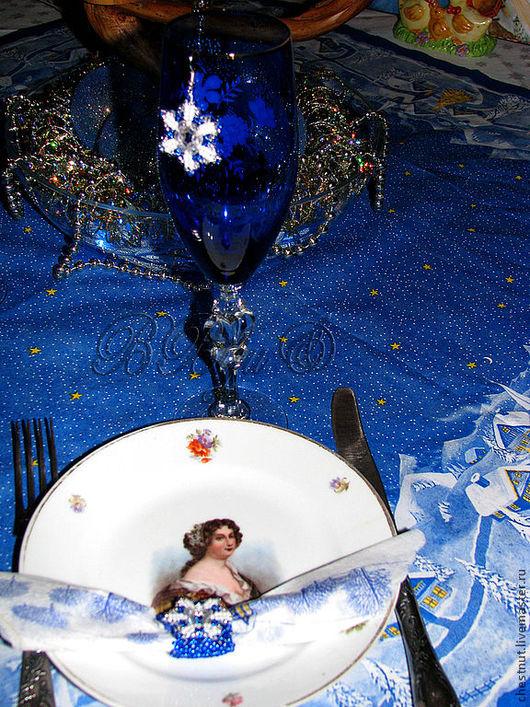 """Комплекты аксессуаров ручной работы. Ярмарка Мастеров - ручная работа. Купить Украшения для стола """" Новый Год"""". Handmade."""