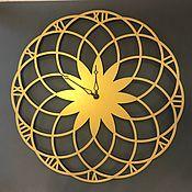 Часы классические ручной работы. Ярмарка Мастеров - ручная работа Часы  настенные Beauty Gold. Handmade.