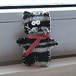 Кот Оптимист (Марина) - Ярмарка Мастеров - ручная работа, handmade