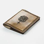 Обложки ручной работы. Ярмарка Мастеров - ручная работа Обложка с вашим вензелем в стиле ренессанс. Handmade.