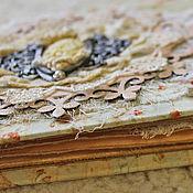 Канцелярские товары ручной работы. Ярмарка Мастеров - ручная работа Шебби-альбом для фото. Handmade.