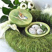 Куклы и игрушки ручной работы. Ярмарка Мастеров - ручная работа Весенний кролик Mr. Green. Handmade.