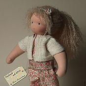 Куклы и игрушки ручной работы. Ярмарка Мастеров - ручная работа Вальдорфская кукла, Розочка 34см. Handmade.
