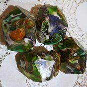 handmade. Livemaster - original item Malachite soap (soap-stone). Handmade.