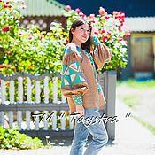 Одежда ручной работы. Ярмарка Мастеров - ручная работа Блузка бохо вышитая женская, этно стиль,Bohemi, вышиванка. Handmade.