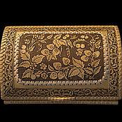 Для дома и интерьера handmade. Livemaster - original item Bread box made of birch bark for 1 loaf