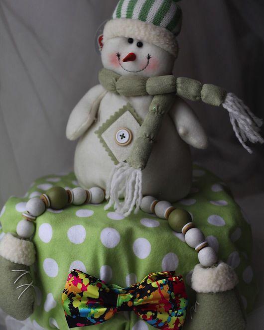 """Подарки для новорожденных, ручной работы. Ярмарка Мастеров - ручная работа. Купить Торт из подгузников """"Снеговичок"""". Handmade. Торт, подгузники"""