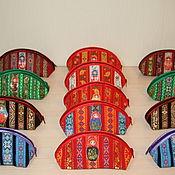 Аксессуары ручной работы. Ярмарка Мастеров - ручная работа Косметичка, пенал, очечник, клатч. Handmade.