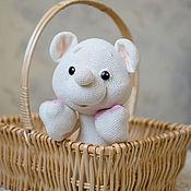Куклы и игрушки ручной работы. Ярмарка Мастеров - ручная работа Мягкая игрушка Мишка Шуня. Handmade.