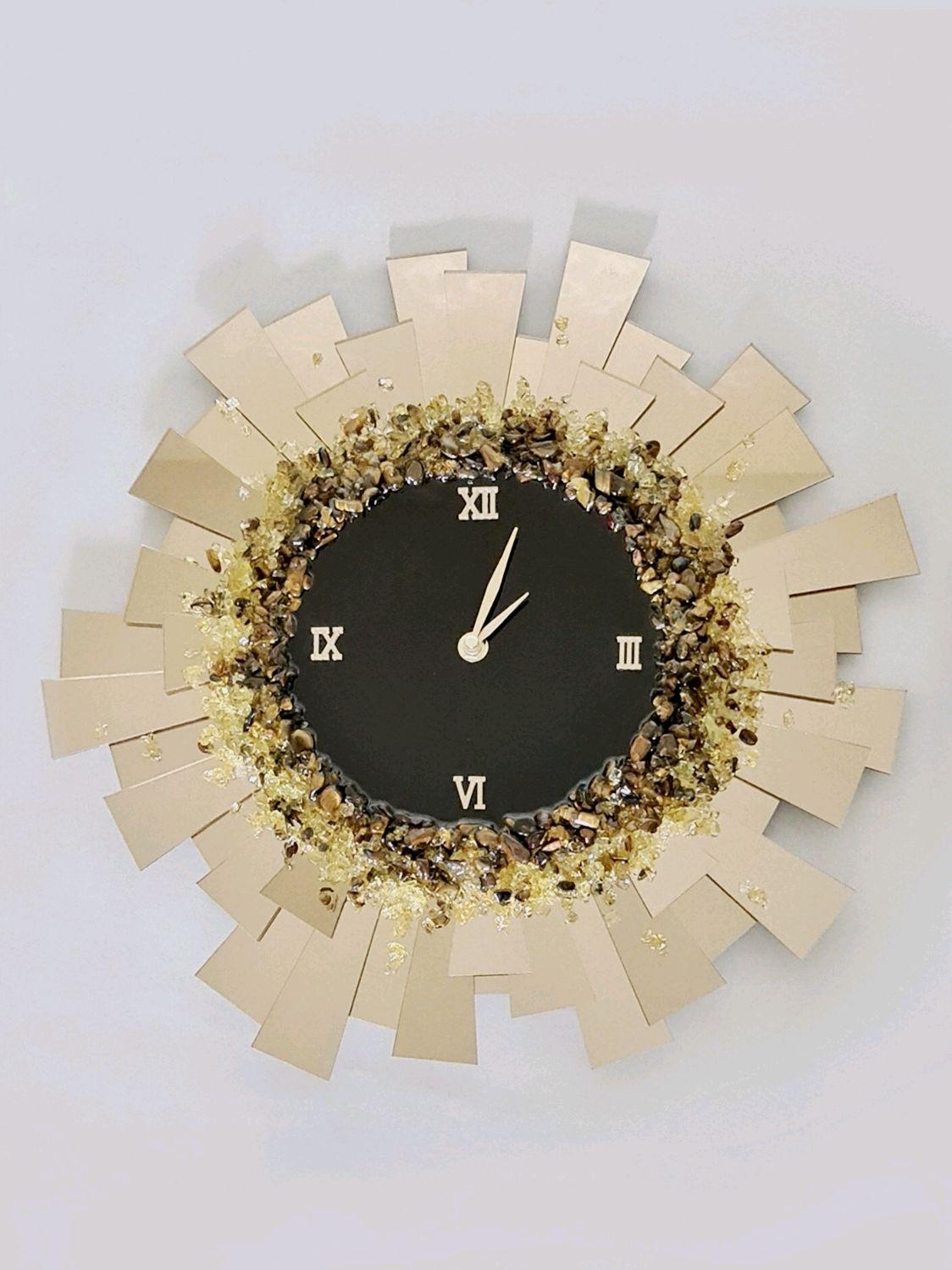 Часы с натуральными камнями, Часы классические, Санкт-Петербург,  Фото №1