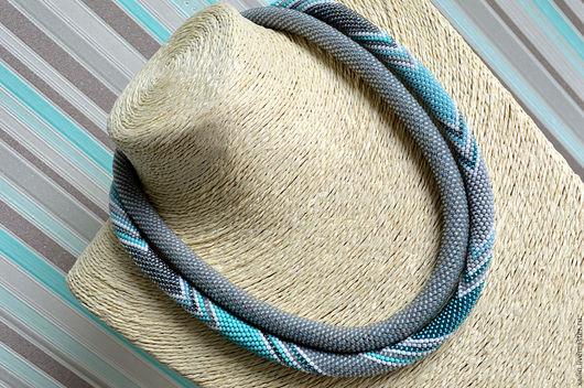 Двойной жгут вязание