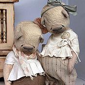 Куклы и игрушки ручной работы. Ярмарка Мастеров - ручная работа Маша и Даша. Handmade.