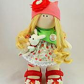 Куклы и игрушки ручной работы. Ярмарка Мастеров - ручная работа Девочка-ягодка. Handmade.