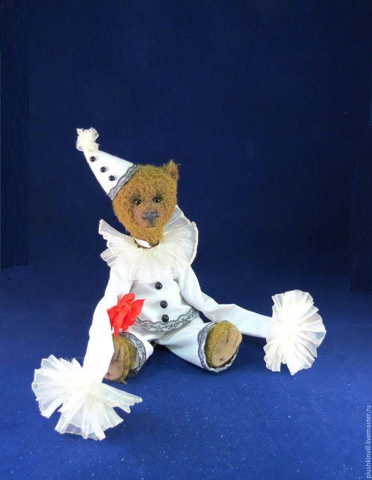 """Мишки Тедди ручной работы. Ярмарка Мастеров - ручная работа. Купить Игрушка """"Мишка Тедди Пьеро"""". Handmade. Комбинированный"""