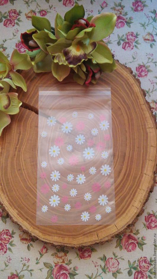 Упаковка ручной работы. Ярмарка Мастеров - ручная работа. Купить Пакет с клейкой лентой 12 на 18 см. Handmade. Комбинированный