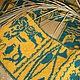 Двухсторонний вязаный шарф Египетский, Шарфы и шарфики, Благовещенск, Фото №1