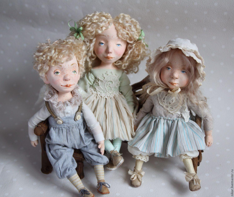 Куклы как дети ручной работы