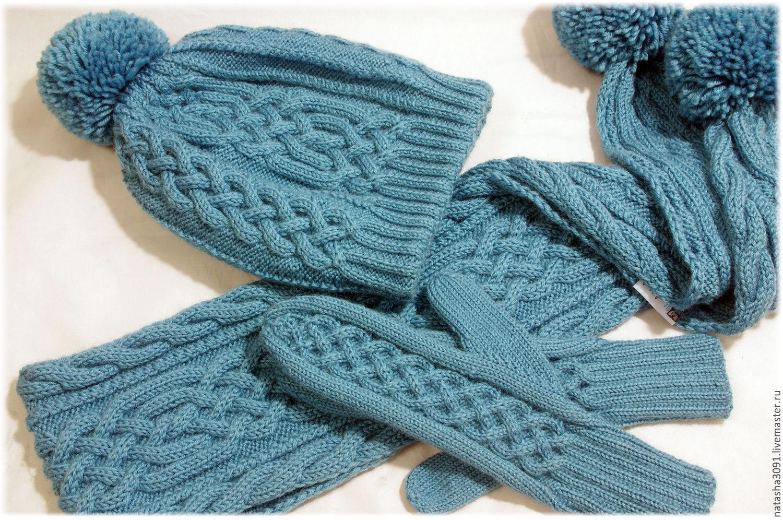 Размеры: варежки: 16 х 9 см; шарф-капюшон: единый размер; налобная повязка: единый размер.