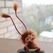 Куклы и игрушки ручной работы. Ярмарка Мастеров - ручная работа Таракашечка,обитатель старой жестянки). Handmade.