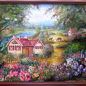 """Картины и панно ручной работы. Ярмарка Мастеров - ручная работа """"Мечта"""". Handmade."""