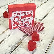 Для дома и интерьера ручной работы. Ярмарка Мастеров - ручная работа Салфетница  Счастливые совы. Handmade.