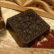 Косметика ручной работы. Ярмарка Мастеров - ручная работа Мыло-скраб с натуральным молотым кофе. Handmade.