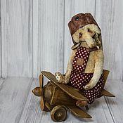Куклы и игрушки ручной работы. Ярмарка Мастеров - ручная работа Слон-авиатор По. Handmade.