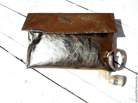 кожаный бронзовый клатч, кожаный клатч бронза, золотой кожаный клатч, женская сумка кожа бронзовый, клатч женский купить кожа, купить кожаный женский клатч, клатч из натуральной кожи