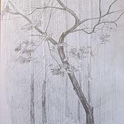 Картины и панно ручной работы. Ярмарка Мастеров - ручная работа Изящное дерево. Handmade.