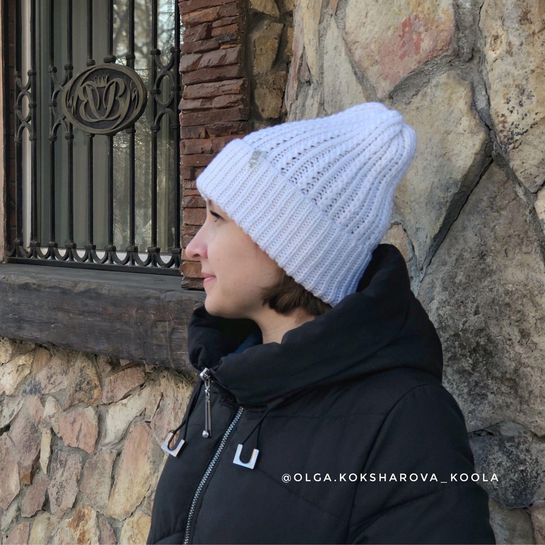 Женская шапка вязаная. Шапка-тыква, Шапки, Тюмень,  Фото №1