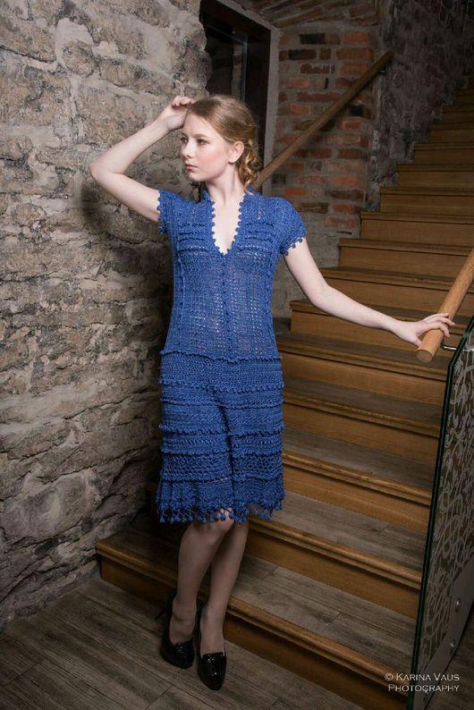 """Платья ручной работы. Ярмарка Мастеров - ручная работа. Купить Вязаное платье """"Laine"""". Handmade. Вязаное платье, выходное платье"""