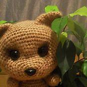 Куклы и игрушки ручной работы. Ярмарка Мастеров - ручная работа Котёнок вязаный Лизонька. Handmade.