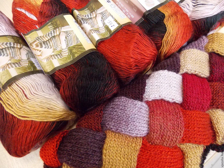 Нитки с переходом цвета для вязания