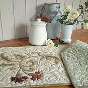 Для дома и интерьера ручной работы. Ярмарка Мастеров - ручная работа Комплект столового белья Wild rose в стиле пэчворк. Handmade.