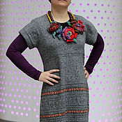 Одежда ручной работы. Ярмарка Мастеров - ручная работа Платье-сарафан. Простая вещь №4. Handmade.