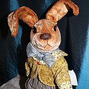 Куклы и игрушки ручной работы. Ярмарка Мастеров - ручная работа заяц Фредди. Handmade.