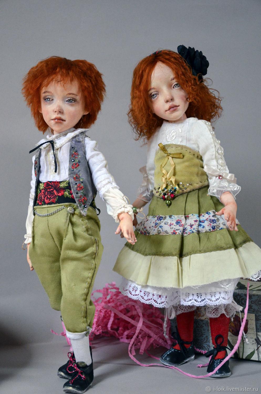 OOAK Art doll - doll handmade, Interior doll, Odessa,  Фото №1