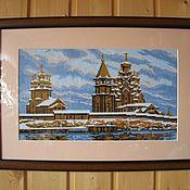 Картины и панно ручной работы. Ярмарка Мастеров - ручная работа кижи. Handmade.