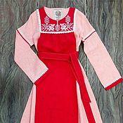Одежда handmade. Livemaster - original item Dress Slavic