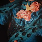 """Аксессуары ручной работы. Ярмарка Мастеров - ручная работа Палантин """"В парке Чаир..."""". Handmade."""