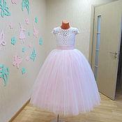 Работы для детей, ручной работы. Ярмарка Мастеров - ручная работа Нарядное детское платье. Handmade.
