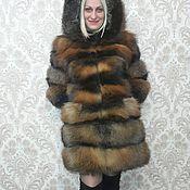 Одежда ручной работы. Ярмарка Мастеров - ручная работа Шубка из меха лисы. Handmade.