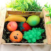 Косметика ручной работы. Ярмарка Мастеров - ручная работа ящик с ягодами-фруктами (мыло). Handmade.