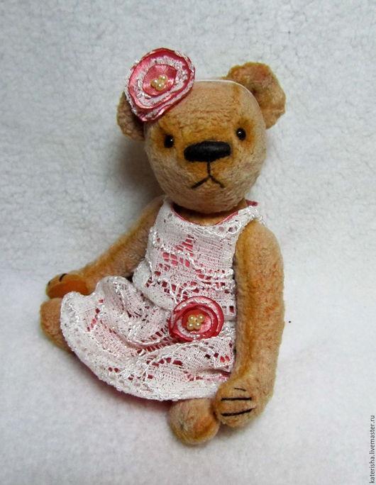Мишки Тедди ручной работы. Ярмарка Мастеров - ручная работа. Купить Мишка тедди Розалия. Handmade. Бежевый, тедди