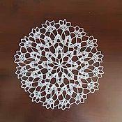 Для дома и интерьера ручной работы. Ярмарка Мастеров - ручная работа салфетка. Handmade.