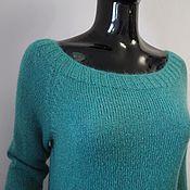 Одежда ручной работы. Ярмарка Мастеров - ручная работа Джемпер из мохера на шелке. Handmade.