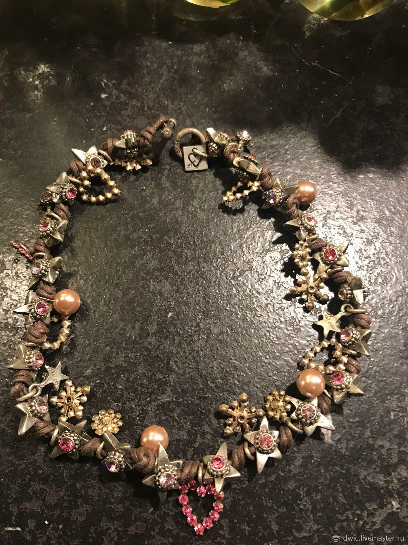 Choker necklace 'Closer to the stars', Otazu, Argentina, Vintage necklace, Arnhem,  Фото №1