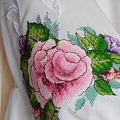 Одежда ручной работы. Ярмарка Мастеров - ручная работа Платье вышитое. Handmade.