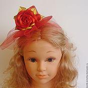 Работы для детей, handmade. Livemaster - original item Bezel - hat