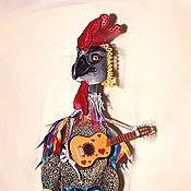 Puppet show handmade. Livemaster - original item Cock.Puppets on the ensemble.. Handmade.